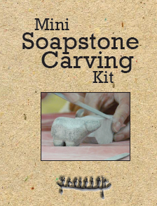 Mini Soapstone Carving Kit