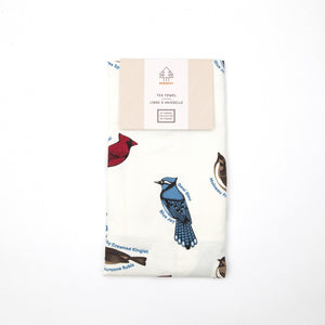 Birds of Canada Tea Towel