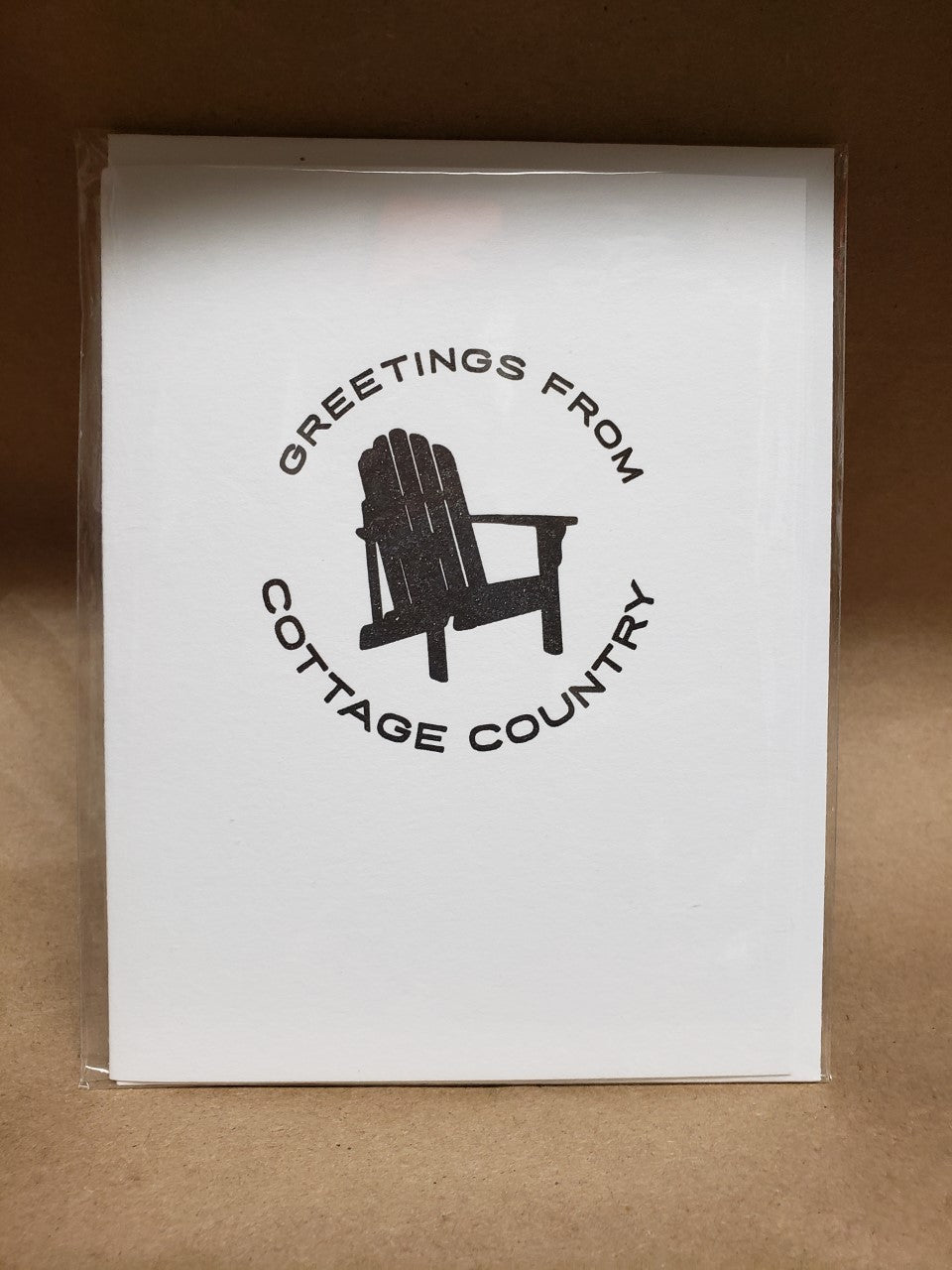 Greetings From Cottage Country Note Card