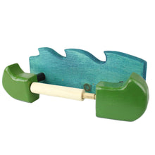 Wooden Canoe Toilet Paper Holder