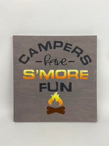 Painted Wooden Signs - Large