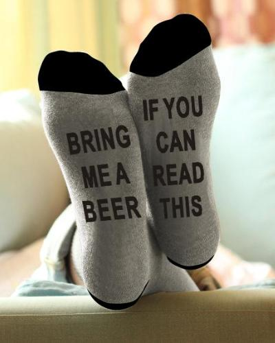 If You Can Read This, Bring Me A Beer - Socks