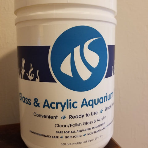 Glass and Acrylic Aquarium Wipes