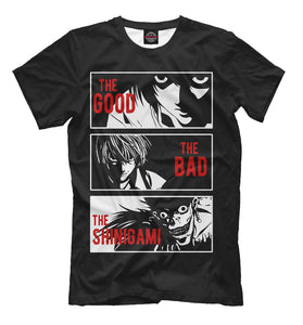 Death Note NEW T-shirt Anime Cool Design