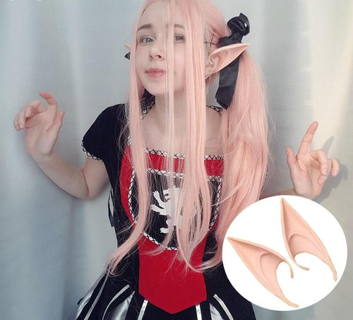 1Pair Mysterious Angel Elf Ears Fairy Style - Kawainess