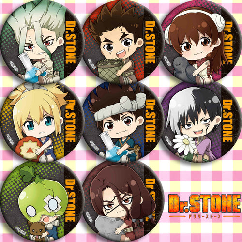 1pc 58mm Anime Dr. Stone Badges