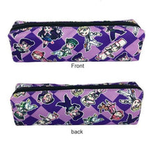 JoJo Bizarre Adventure Pen Bag Students Pencil Case Zipper