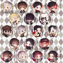 1pcs 58MM Bungo Stray Dogs Cute Pins Icons Anime Badge Present - Kawainess