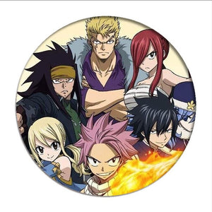 Fairy Tail  Badges