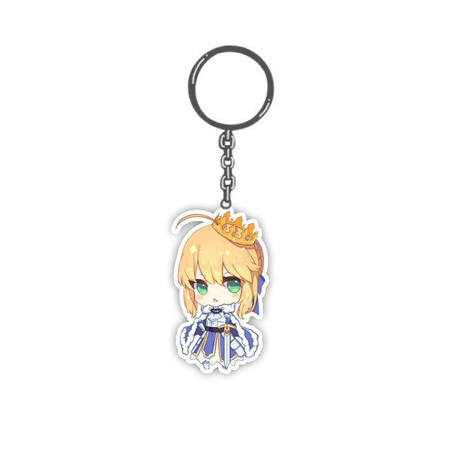 5CM Cute  Fate Grand Order Keychains