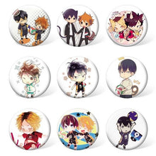 9 pcs/lot Haikyuu Badges - Kawainess