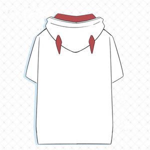 DARLING in the FRANXX  ZERO TWO White Casual T-Shirt - Kawainess