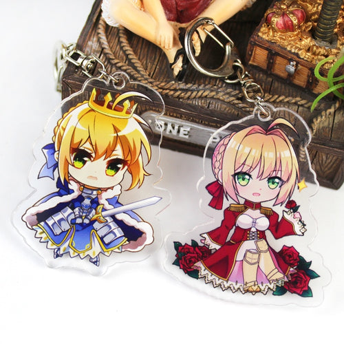 Fate Grand Order Keychains