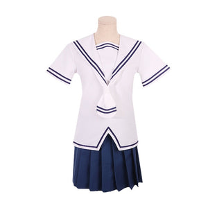Fruits Basket Tohru Honda Cosplay Japanese School Uniform Blouse Skirt Set