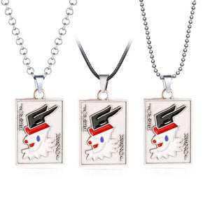 Hunter x Hunter Necklace Hisoka Logo Pendant