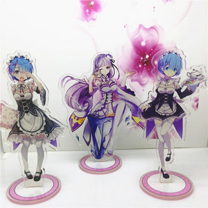 Re: Life in a different world from zero Acrylic Stand Figure