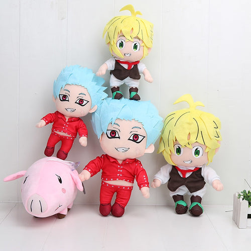Seven Deadly Sins Anime Plush