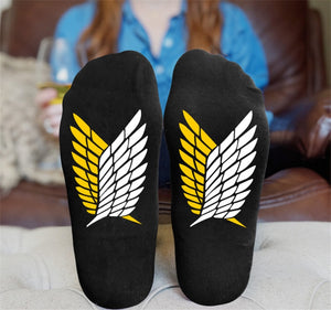 Attack on Titan Wings of Freedom Socks