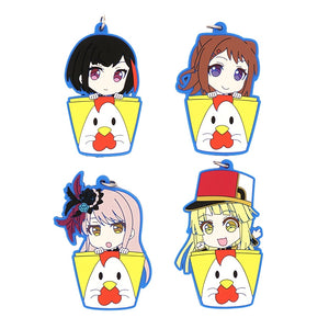 Bang Dream! Rubber Strap Keychain - Kawainess
