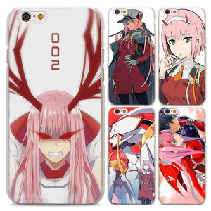 New Darling in the FranXX  Phone Cases Cover for Apple iPhone 6 6s 6Plus 7 8 7Plus 5 5S X - Kawainess