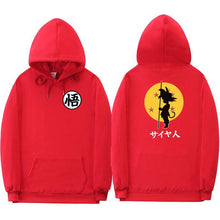 Dragon Ball Z Hoodies Different Colours