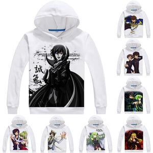 Code Geass Lelouch of the Rebellion 3D Hoodies - Kawainess