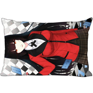 Cover Kakegurui Rectangle Zipper Pillow  40x60cm45X75cm50X75cm(Two sides) - Kawainess