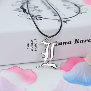 Death Note Double L Yagami  Necklace