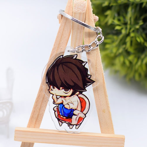 Death Note Keychain Cute Double Sided