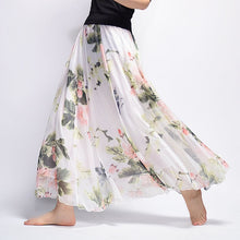 Long Skirt Chiffon Saia Beach Bohemian Maxi Skirts
