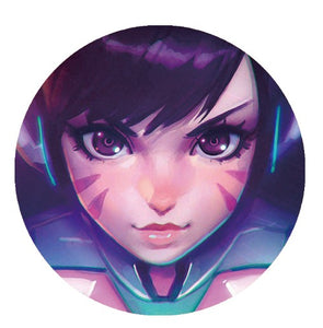 5.8cm Custom Overwatch Badges - Kawainess