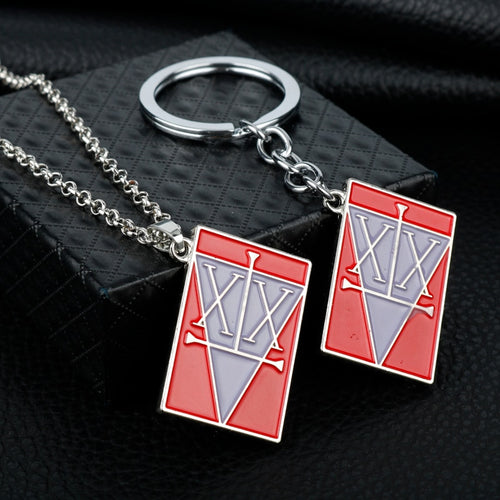 Anime Hunter x Hunter GON FREECSS License Logo Necklaces