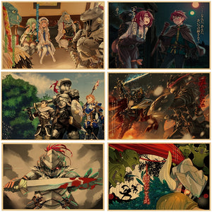Goblin Slayer Paper Anime Posters