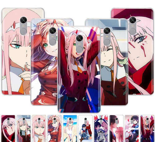 Darling in the FranXX Cover for Xiaomi Redmi - Kawainess