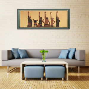 Anime One Piece  Struggle Kraft Paper Poster - Kawainess