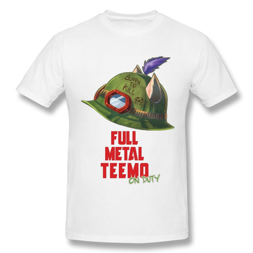 High-Q Teemo From League Of Legends Custom T Shirt