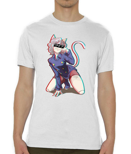 Hunter X Hunter Neferpitou Pitou Glitch Printed T-shirt