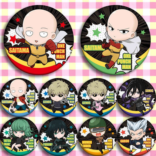 ONE PUNCH-MAN Badges