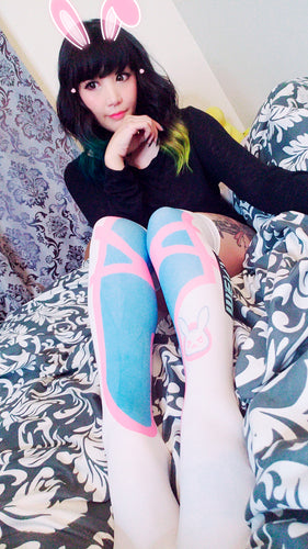 Overwatch D.va Kawaii Girl's Comfortable Game thigh high