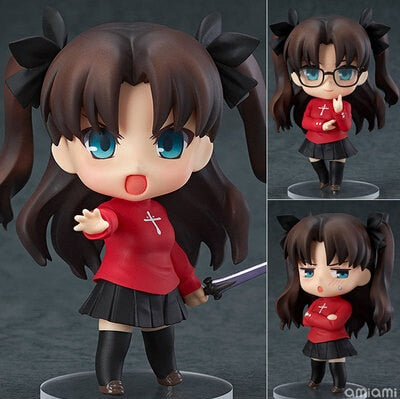 HOT 10cm Fate stay night Tohsaka Rin The Holy Grail War Nendoriod