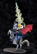 NEW HOT 30-50cm Fate/stay night Saber Arutoria Pendoragon Horse Riding FIgure