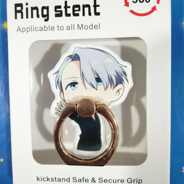 1 Pc Universal Anime YURI on ICE Finger Ring Stent