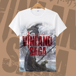 New VINLAND SAGA Thorfinn T-shirt Fashion Askeladd Anime T-Shirt