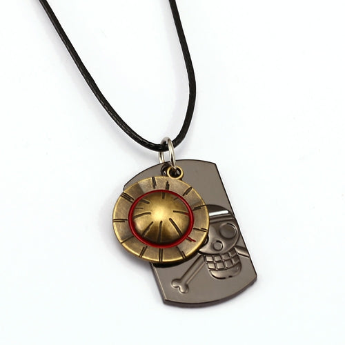 ONE PIECE Necklace Luffy Hat Necklace