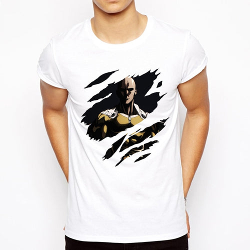 One punch man T-shirt  Cool design Saitama sensei