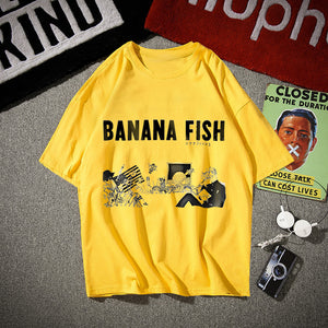 BANANA FISH T-shirt Good Quality - Kawainess