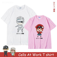 Cells At Work T shirt Blood Platelet Red Blood Cell Killer T Cell White Blood