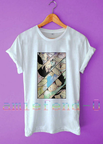 Simple Dr Stone The Five Pillars New Anime Survival Casual Unisex T-Shirt S-3XL