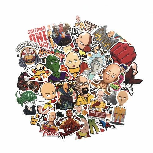 50Pcs ONE PUNCH-MAN Stickers