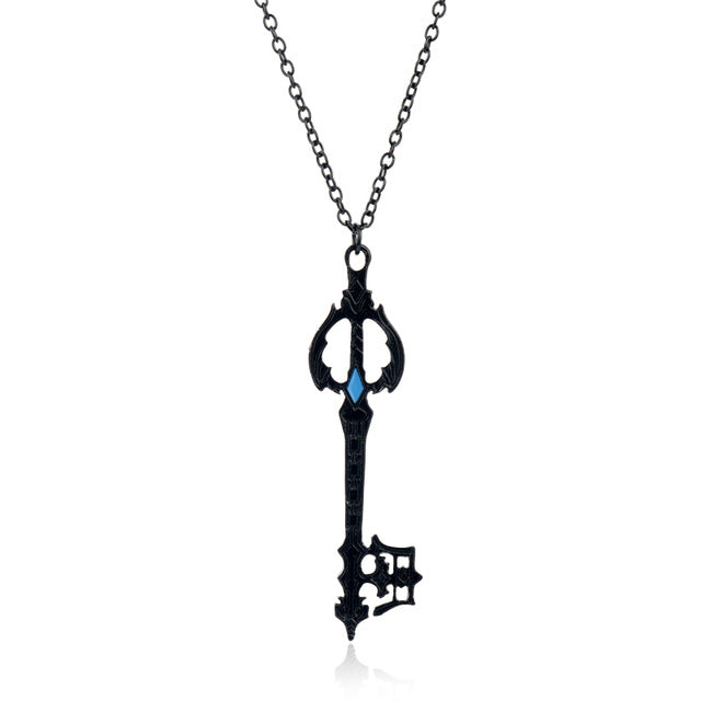 Kingdom Hearts Oblivion Blade Charms Necklace Metal Alloy